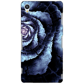 Jugaaduu Abstract Flower Pattern Back Cover Case For Sony Xperia M4 - J611506