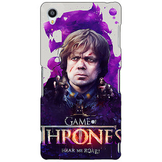 Jugaaduu Game Of Thrones GOT House Lannister Tyrion Back Cover Case For Sony Xperia Z4 - J581546