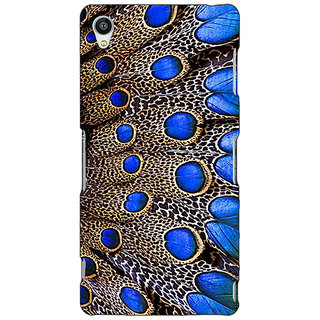 Jugaaduu Paisley Beautiful Peacock Back Cover Case For Sony Xperia Z4 - J581577