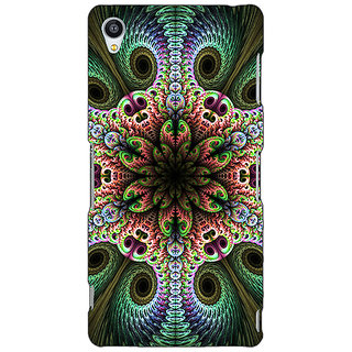 Jugaaduu Paisley Beautiful Peacock Back Cover Case For Sony Xperia Z4 - J581597