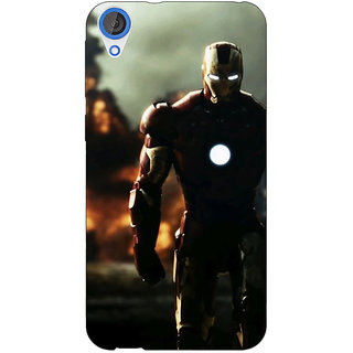 Jugaaduu Superheroes Ironman Back Cover Case For HTC Desire 826 - J590033