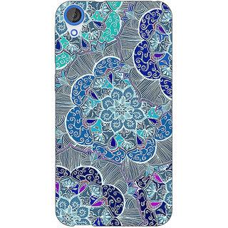 Jugaaduu Floral Craze Pattern Back Cover Case For HTC Desire 826 - J590260