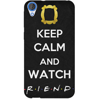 Jugaaduu TV Series FRIENDS Back Cover Case For HTC Desire 826 - J590344