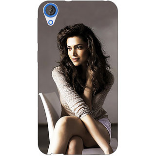 Jugaaduu Bollywood Superstar Deepika Padukone Back Cover Case For HTC Desire 826 - J591038