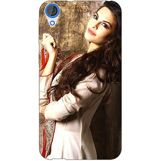 Jugaaduu Bollywood Superstar Jacqueline Fernandez Back Cover Case For HTC Desire 826 - J591044