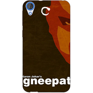 Jugaaduu Bollywood Superstar Agneepath Back Cover Case For HTC Desire 826 - J591092
