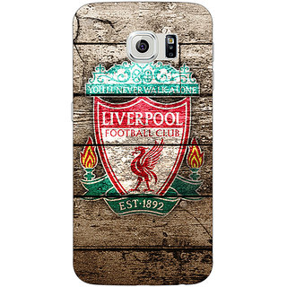 Jugaaduu Liverpool Back Cover Case For Samsung S6 Edge - J600548
