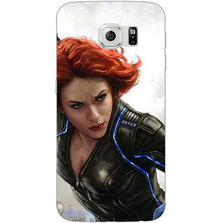 Jugaaduu Super Heroes Avengers Age of Ultron Back Cover Case For Samsung S6 Edge - J600851