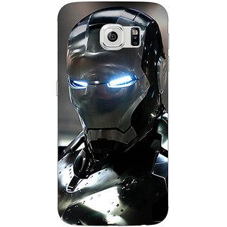 Jugaaduu Wolverine Hugh Jackman Back Cover Case For Samsung S6 Edge - J600897
