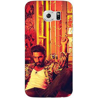 Jugaaduu Bollywood Superstar Ranveer Singh Back Cover Case For Samsung S6 Edge - J600905