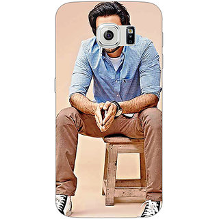 Jugaaduu Bollywood Superstar Ranveer Singh Back Cover Case For Samsung S6 Edge - J600921