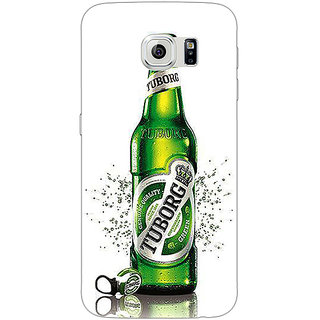 Jugaaduu Tuborg Beer Back Cover Case For Samsung S6 Edge - J601244