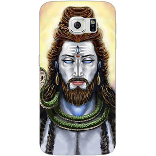 Jugaaduu Mahadev Shiv Shankar Bholenath Back Cover Case For Samsung S6 Edge - J601277