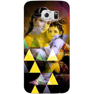 Jugaaduu Lord Krishna Back Cover Case For Samsung S6 Edge - J601281