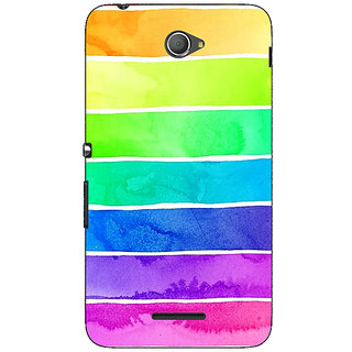 Jugaaduu Shades Of Life Pattern Back Cover Case For Sony Xperia E4 - J620250
