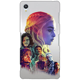 Jugaaduu Game Of Thrones GOT All Back Cover Case For Sony Xperia M4 - J611529