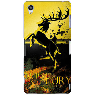 Jugaaduu Game Of Thrones GOT Baratheon Back Cover Case For Sony Xperia M4 - J611530