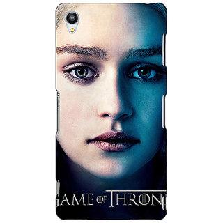 Jugaaduu Game Of Thrones GOT Khaleesi Daenerys Targaryen Back Cover Case For Sony Xperia M4 - J611544