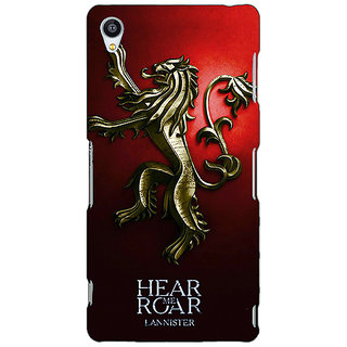 Jugaaduu Game Of Thrones GOT House Lannister Back Cover Case For Sony Xperia M4 - J611553