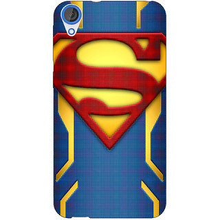 Jugaaduu Superheroes Superman Back Cover Case For HTC Desire 826 - J590390