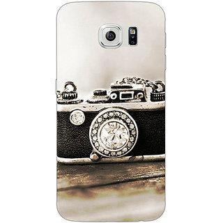 Jugaaduu Vintage Camera  Back Cover Case For Samsung S6 Edge - J600712