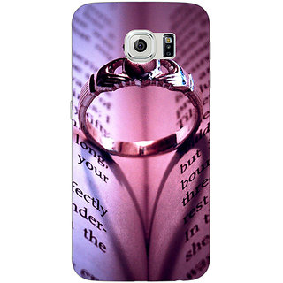 Jugaaduu Proposal Back Cover Case For Samsung S6 Edge - J600730