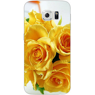 Jugaaduu Roses Back Cover Case For Samsung S6 Edge - J600737