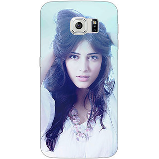Jugaaduu Bollywood Superstar Shruti Hassan Back Cover Case For Samsung S6 Edge - J600988