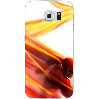 Jugaaduu Flash Back Cover Case For Samsung S6 Edge - J601434