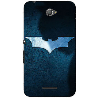Jugaaduu Superheroes Batman Dark knight Back Cover Case For Sony Xperia E4 - J620003