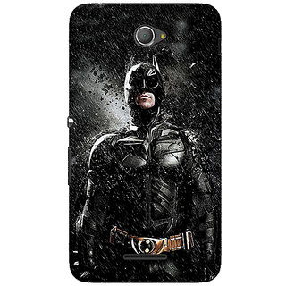 Jugaaduu Superheroes Batman Dark knight Back Cover Case For Sony Xperia E4 - J620016