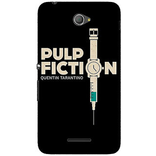 Jugaaduu Pulp Fiction Back Cover Case For Sony Xperia E4 - J620352