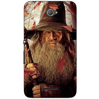 Jugaaduu LOTR Hobbit Gandalf Back Cover Case For Sony Xperia E4 - J620360