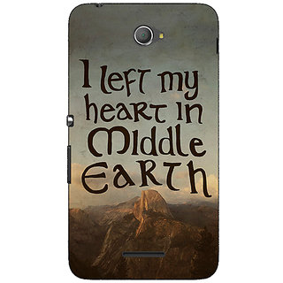 Jugaaduu LOTR Hobbit  Back Cover Case For Sony Xperia E4 - J620377