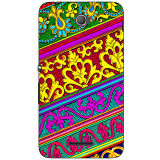 Jugaaduu Floral Pattern  Back Cover Case For Sony Xperia E4 - J620668