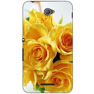 Jugaaduu Heart Bubbles Back Cover Case For Sony Xperia E4 - J620738