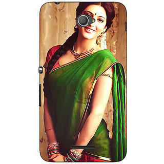 Jugaaduu Bollywood Superstar Shruti Hassan Back Cover Case For Sony Xperia E4 - J621017
