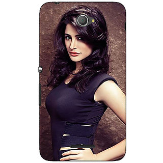 Jugaaduu Bollywood Superstar Nargis Fakhri Back Cover Case For Sony Xperia E4 - J621022