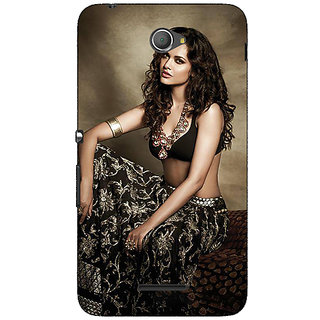 Jugaaduu Bollywood Superstar Esha Gupta Back Cover Case For Sony Xperia E4 - J621029