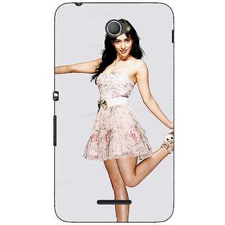 Jugaaduu Bollywood Superstar Neha Sharma Back Cover Case For Sony Xperia E4 - J621059