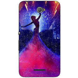Jugaaduu Bollywood Superstar Deepika Padukone Back Cover Case For Sony Xperia E4 - J621060