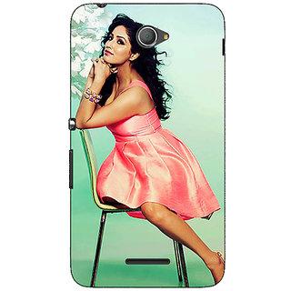 Jugaaduu Bollywood Superstar Yami Gautam Back Cover Case For Sony Xperia E4 - J621076