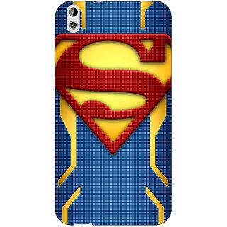 Jugaaduu Superheroes Superman Back Cover Case For HTC Desire 816 - J1050390