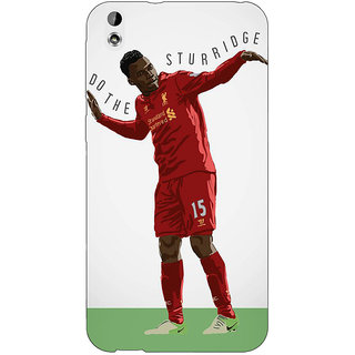 Jugaaduu Liverpool Sturridge Back Cover Case For HTC Desire 816G - J1070552