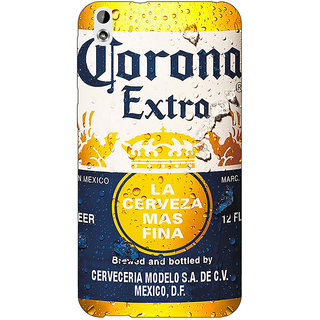 Jugaaduu Corona Beer Back Cover Case For HTC Desire 816 - J1051238