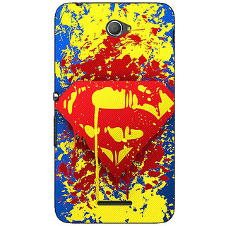 Jugaaduu Superheroes Superman Back Cover Case For Sony Xperia E4 - J620392