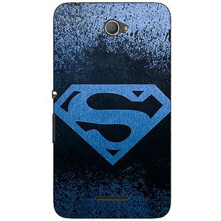 Jugaaduu Superheroes Superman Back Cover Case For Sony Xperia E4 - J620393