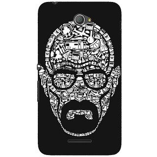 Jugaaduu Breaking Bad Heisenberg Back Cover Case For Sony Xperia E4 - J620407