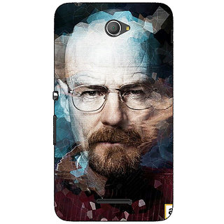 Jugaaduu Breaking Bad Heisenberg Back Cover Case For Sony Xperia E4 - J620421