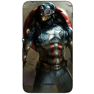 Jugaaduu God of War Back Cover Case For Sony Xperia E4 - J620853